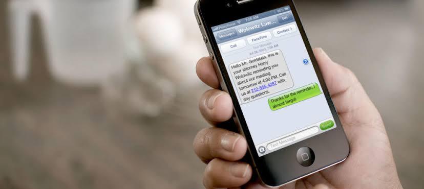 SMS fraude begin 2020